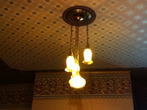 light in parlor