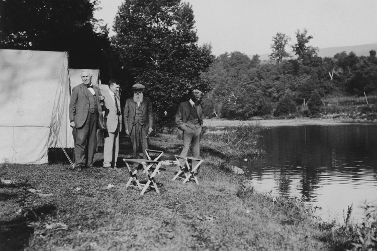 Edison, Firestone, Burroughs and Ford