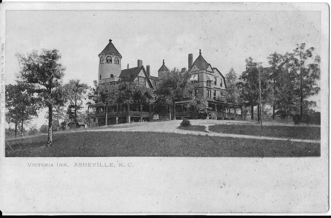 Victoria Inn Postcard