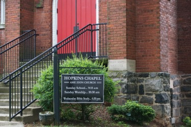 HopkinsChapelSign